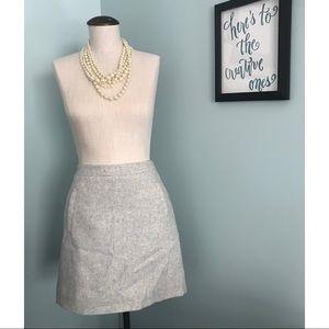 J.Crew Wool Miniskirt